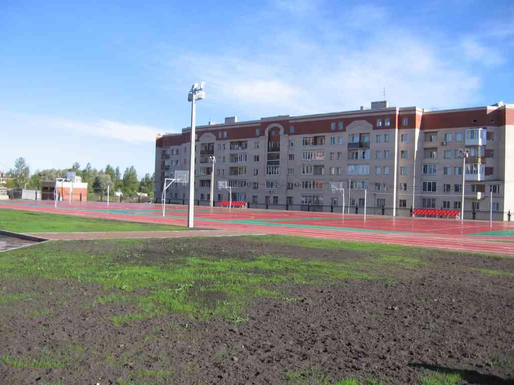 Стадион у новой шкоы N 410